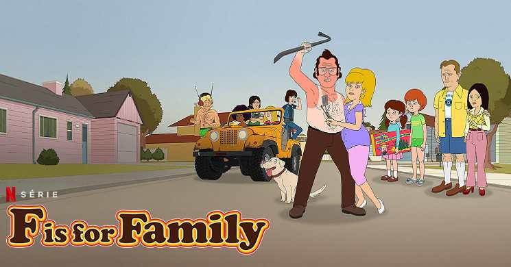 F IS FOR FAMILY - Trailer oficial da T4 da série  Netflix