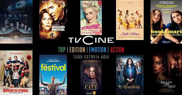 Destaques da programação dos canais TVCine de 22 a 28 de junho