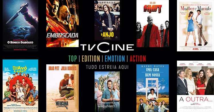 Filmes em destaque nos canais TVCine de 8 a 14 de junho
