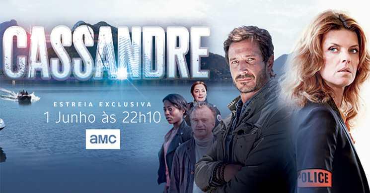 Estreia da série Cassandre no AMC Portugal