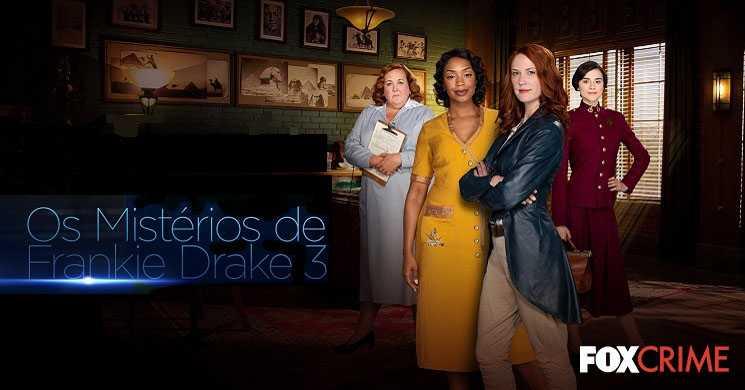 FOX Crime estreia da temporada 3 da serie Os Mistérios de Frankie Drake
