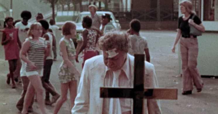 Imagem do filme The Amusement Park de George A. Romero