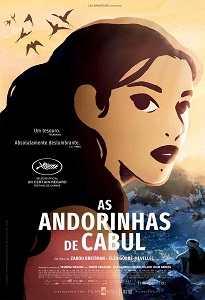 Poster do filme As Andorinhas de Cabul