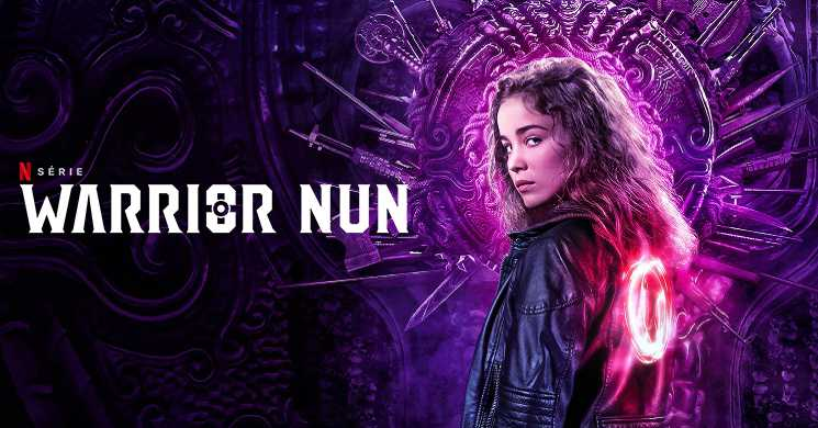 Trailer português da série Warrior Nun