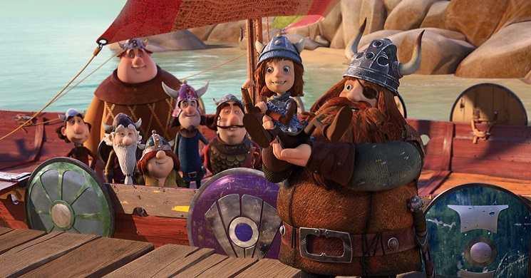 """Trailer português da animação """"Vic o Viking: A Espada Mágica"""""""