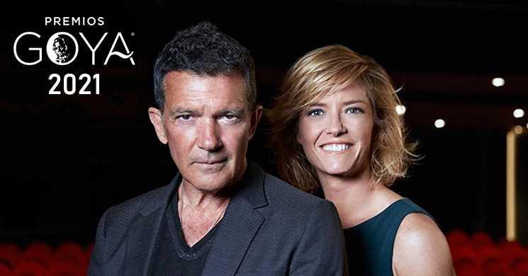 Antonio Banderas e María Casado vão apresentar os Prémios Goya 2021