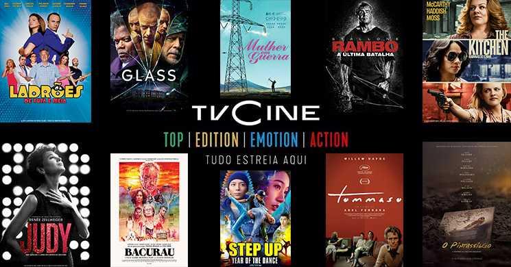 Filmes em destaque nos canais TVCine de 13 a 19 de julho