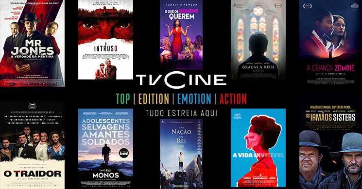 Filmes a não perder nos canais TVCine de 6 a 12 de julho