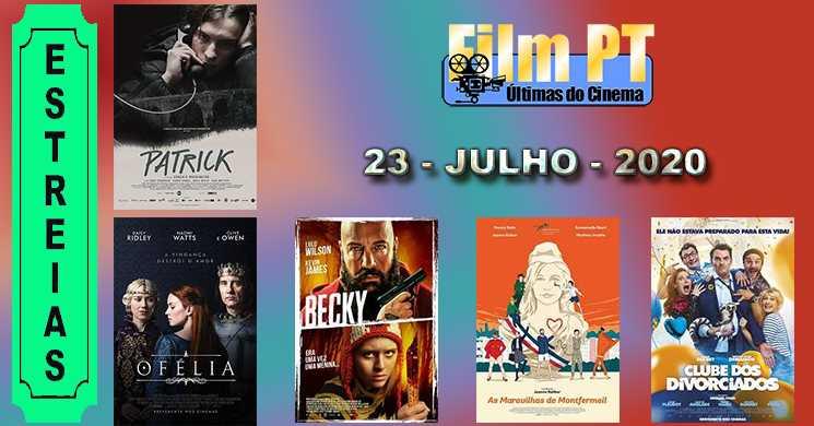 Estreias nos cinemas portugueses: 23 de julho de 2020