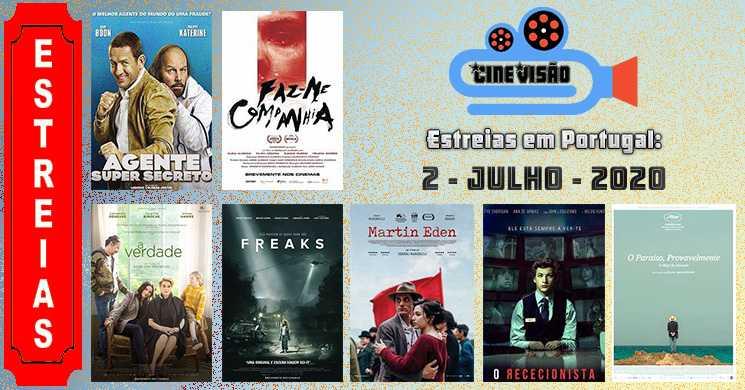 Estreias de filmes nos cinemas portugueses: 2 de julho