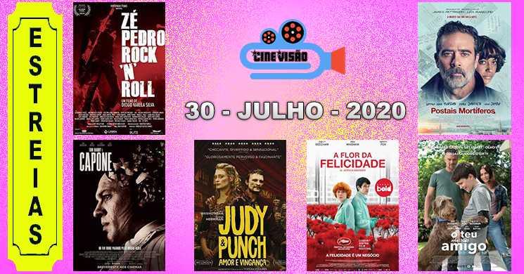 Estreias nos cinemas portugueses: 30 de julho de 2020