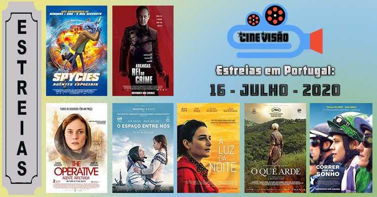 Estreias de filmes nos cinemas portugueses: 16 de julho de 2020