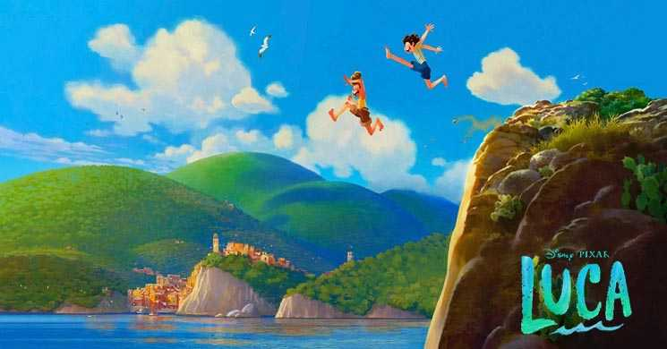 Luca novo filme animado da Disney Pixar