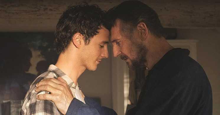 Liam Neeson e o seu filho Micheál no emocionante trailer de