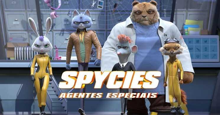 Trailer português da animação Spycies - Agentes Especiais