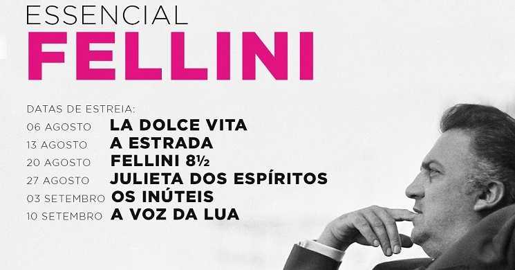 Ciclo de Cinema Essencial Fellini nos cinemas Medeia