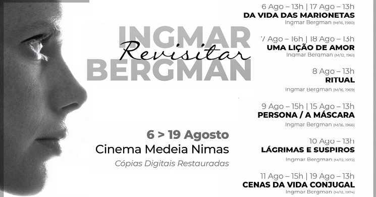 Cinema Medeia Nimas recebe o ciclo de cinema
