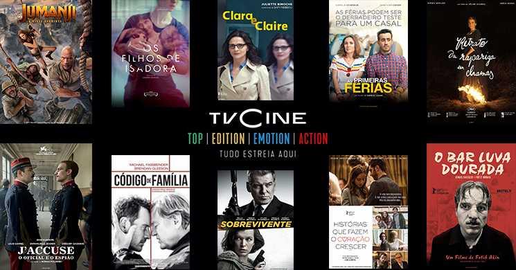 Sugestões de filmes que pode ver nos canais TVCine de 17 a 23 de agosto