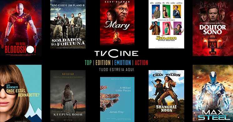 Filmes em destaque nos canaisTVCine de 24 a 30 de agosto