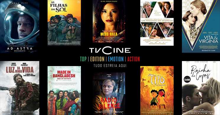 Destaques TVCine 3 a 9 agosto