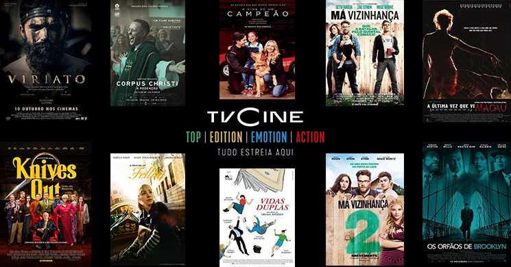 Filmes em destaque nos canais TVCine de 31 de agosto a 6 de setembro