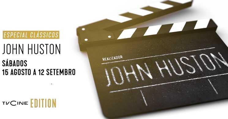 Especial Classicos John Huston no TVCine Edition