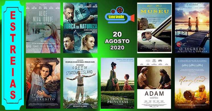 Estreias nos cinemas portugueses: 20 de agosto de 2020