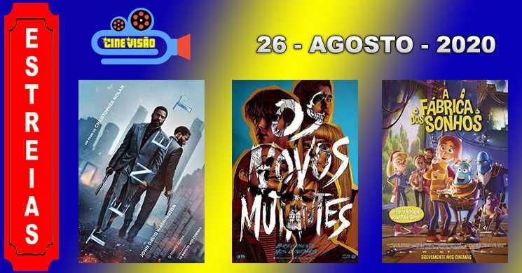 Estreias nos cinemas portugueses: 26 de agosto de 2020