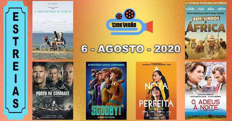 Estreias nos cinemas portugues a 6 de agosto de 2020