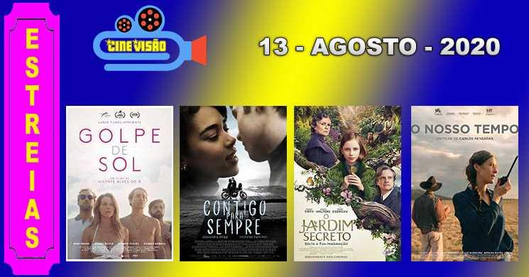 Estreias nos cinemas portugueses 13 de agosto de 2020