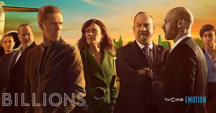 TVCine Emotion estreia temporada 5 de Billions