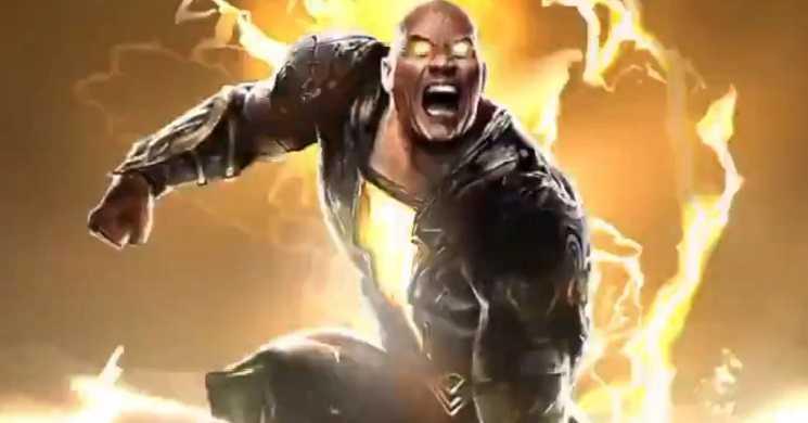 easer trailer do filme Black Adam