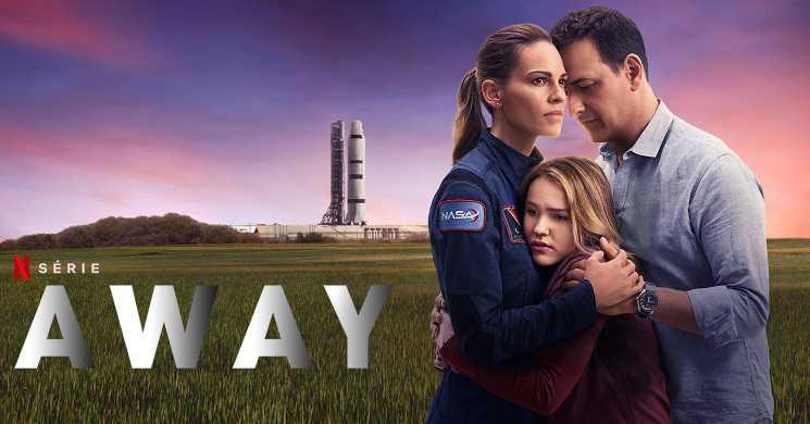 Hilary Swank a caminho de Marte no trailer legendado da série