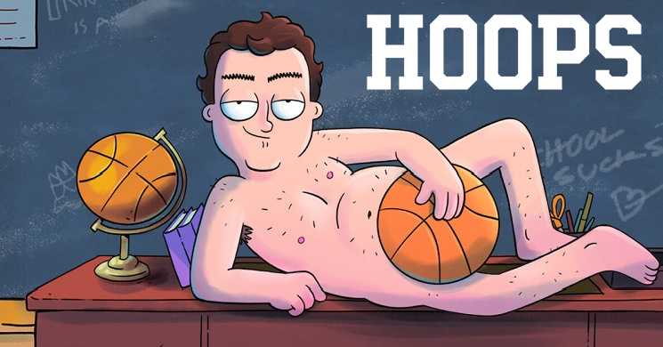 Trailer português da série animada Hoops