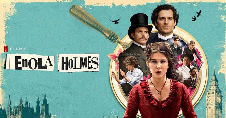 Trailer português do filme Enola Holmes