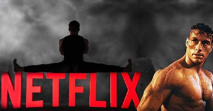 Van Damme juntou-se à Netflix para protagonizar