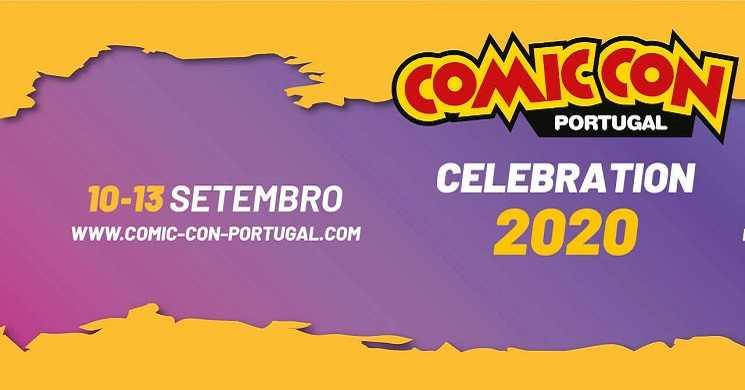 Anunciado um evento digital para celebrar a Comic Con Portugal 2020