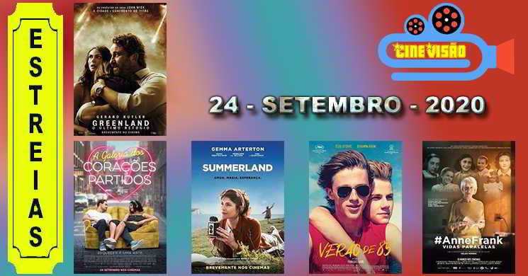 Estreias nos cinemas portugueses: 24 de setembro de 2020