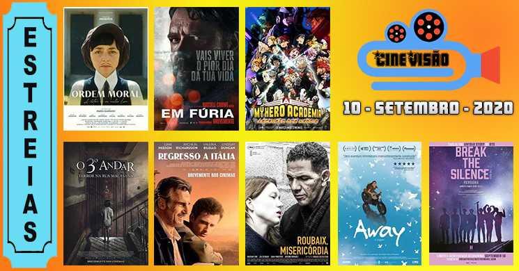 Estreias nos cinemas portugueses: 10 de setembro de 2020