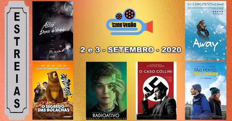 Estreias nos cinemas portugueses: 2 e 3 de setembro de 2020