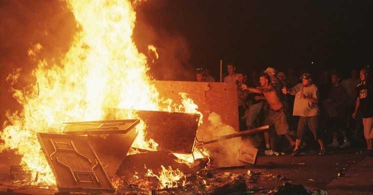 Imagem do festival Woodstock 1999