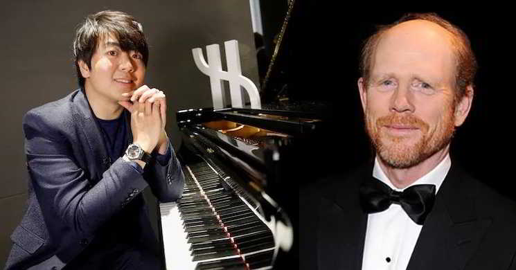 Ron Howard vai dirigir filme sobre o pianista chinês Lang Lang