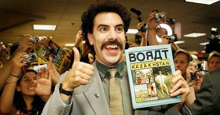 Sacha Baron Cohen filmou em segredo e já tem pronto