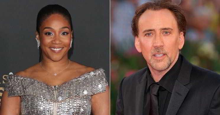 Tiffany Haddish juntou-se a Nicolas Cage em