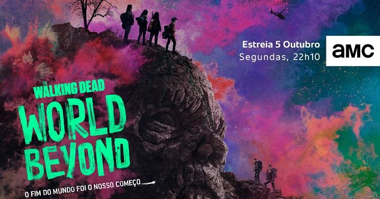 AMC Portugal estreia The Walking Dead: World Beyond