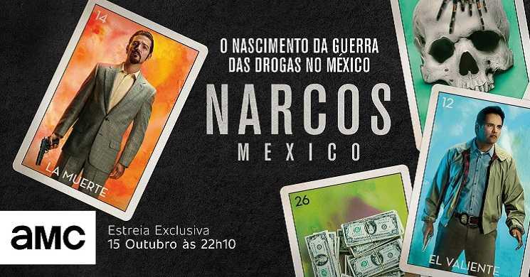 AMC Portugal estreia o spin-off Narcos: México