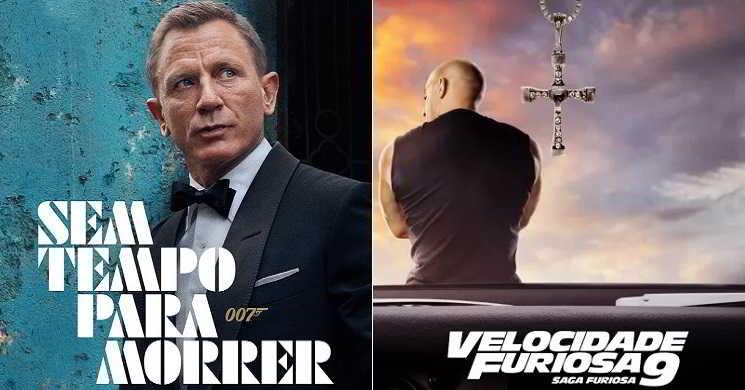 """""""007- Sem Tempo para Morrer"""" e """"Velocidade Furiosa 9"""": Estreias novamente adiadas"""