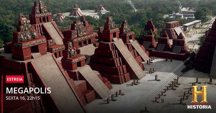 Canal História estreia a série documental Megapolis