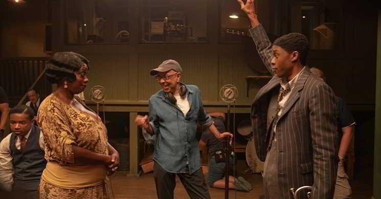 Chadwick Boseman no filme Ma Raineys Black Bottom