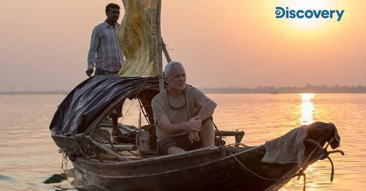 Discovery dá a conhecer os maiores rios do mundo com o biólogo Jeremy Wade